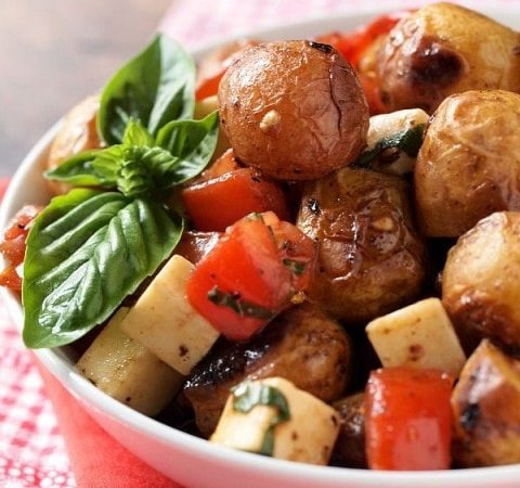 Caprese Potato Salad