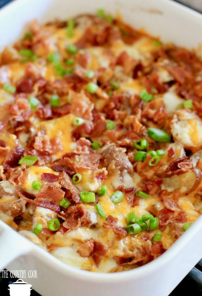 Bacon Cheddar Roasted Potatoes