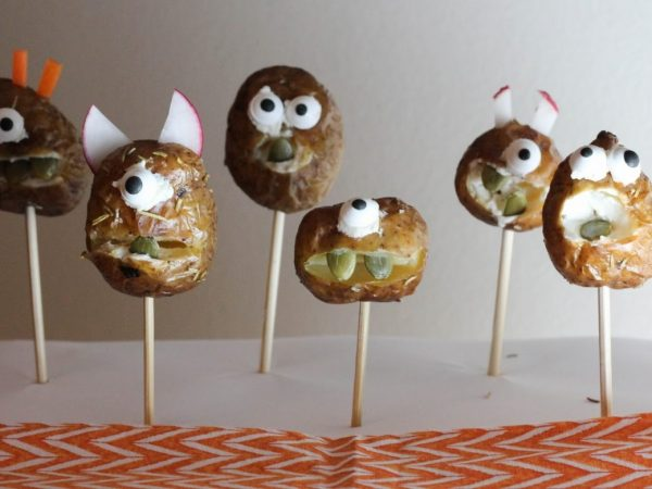 Healthy Halloween Appetizers - The Little Potato Company