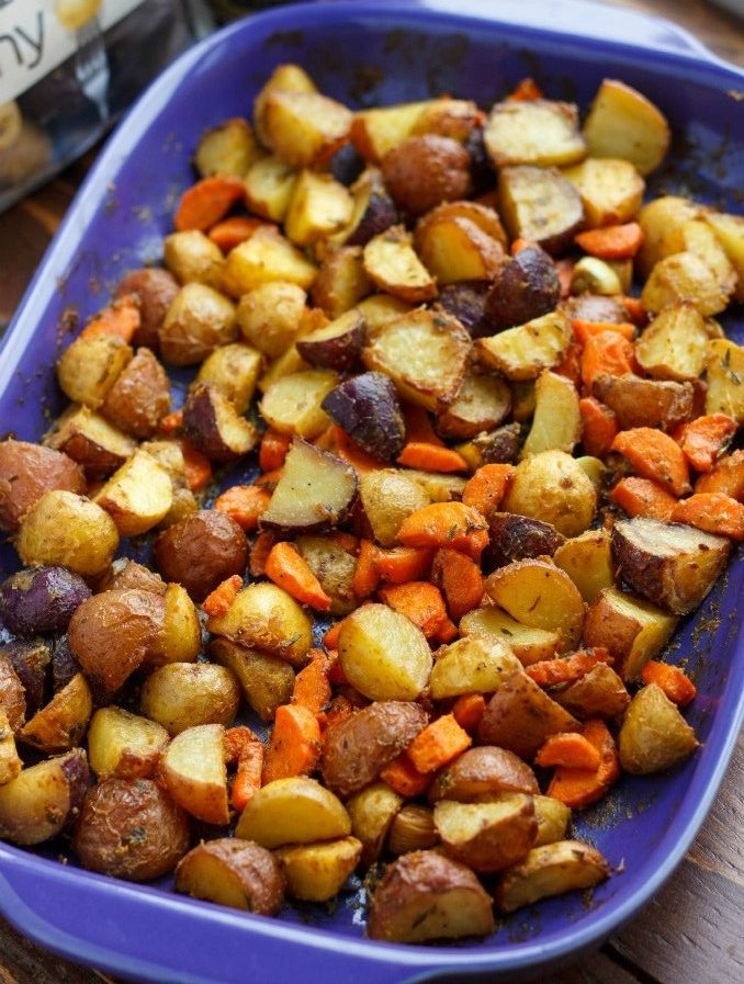 Roasted Dijon Potatoes