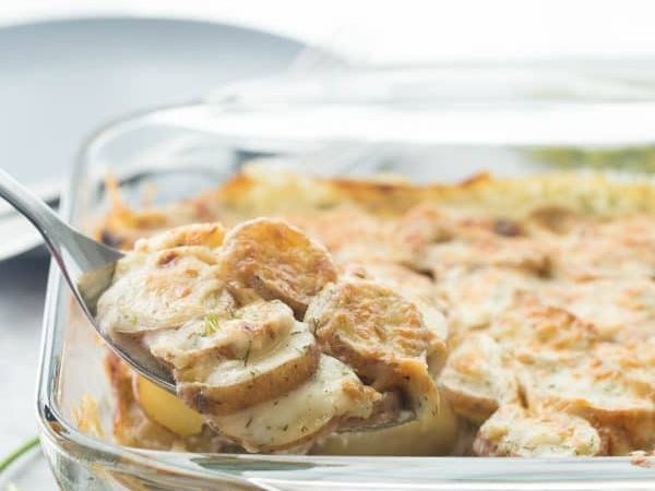 Light Scalloped Potatoes - The Little Potato Company