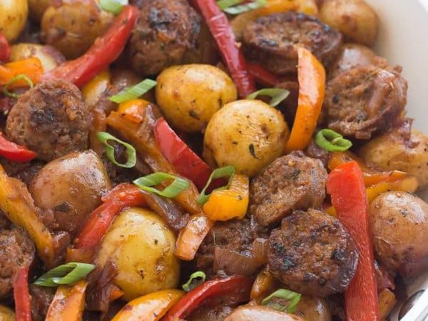Quick Barbecue Potato Skillet