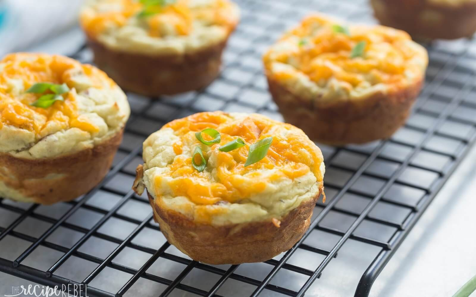 Cheese Stuffed Mashed Potato Puffs