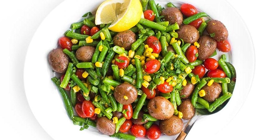 Red Potatoes and Green Bean Salad
