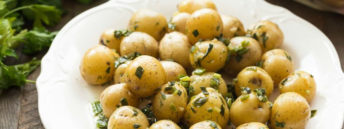 Garlic Herb Potato Salad