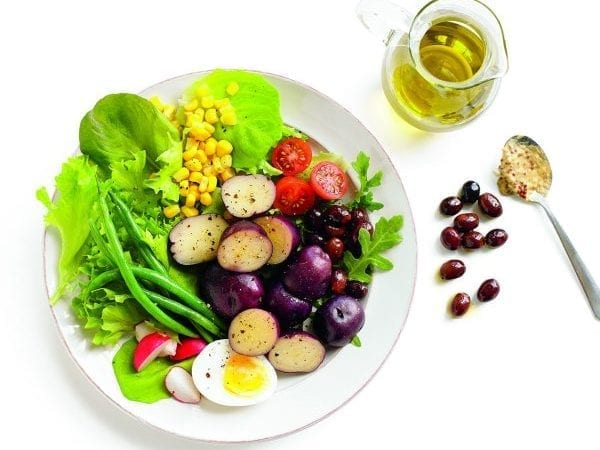 Niçoise Salad with Potatoes and Dijon Vinaigrette