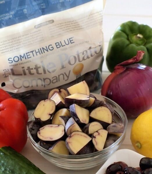 Something Blue, a blue potato option from The Little Potato Company