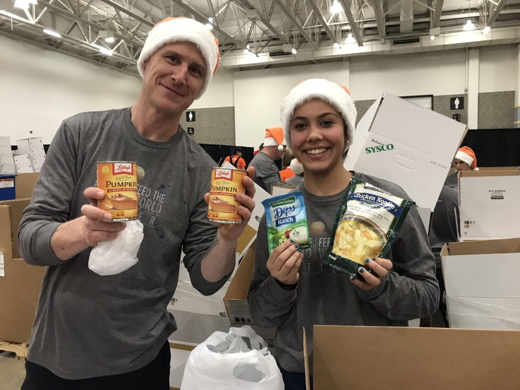 The Little Potato Company supports Second Harvest's Share Your Holidays Grand Finale