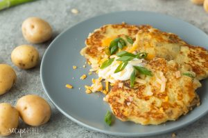 Cheesy Potato Pancakes - The Little Potato Company