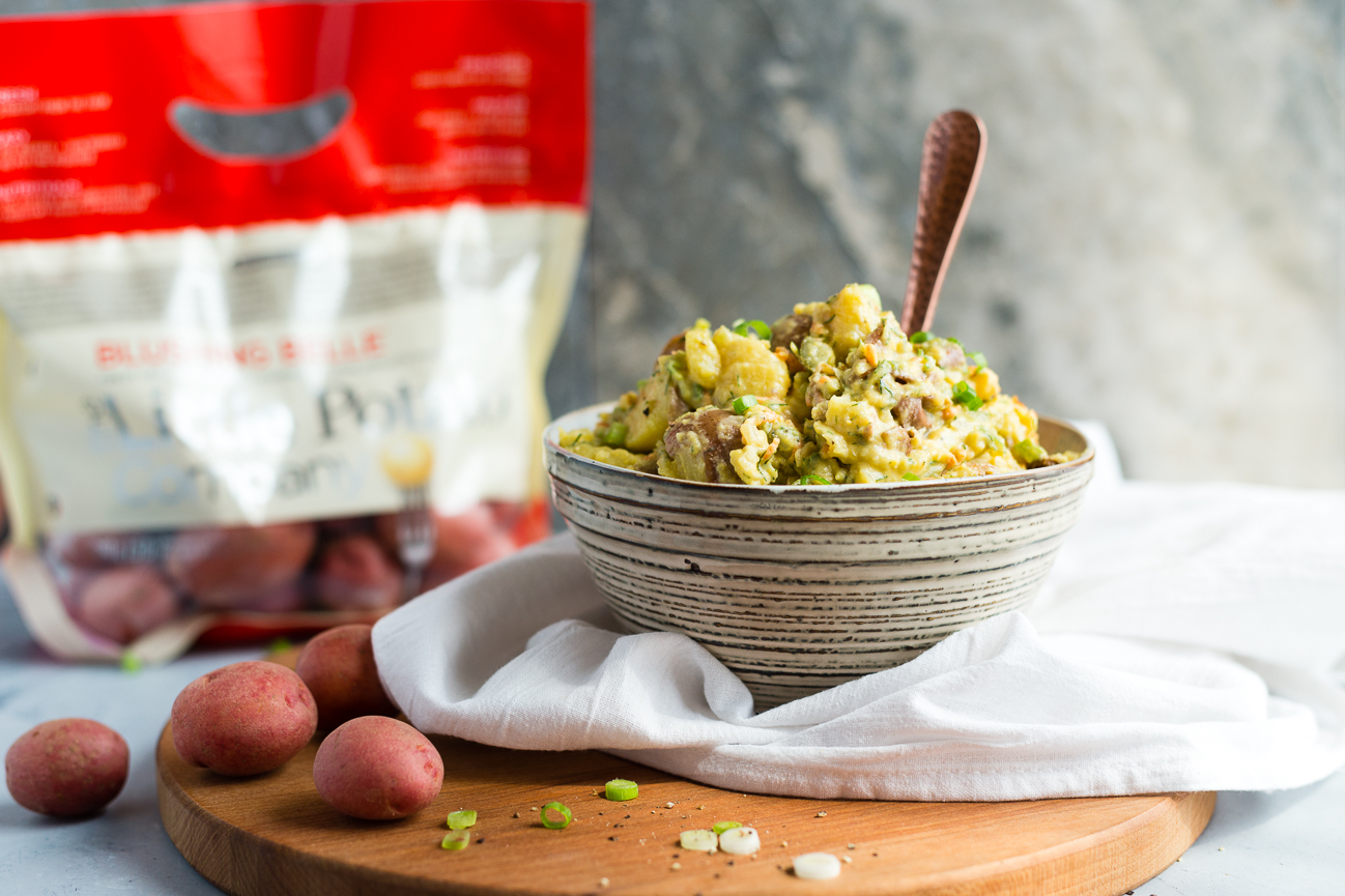 Creamy Vegan Mayo-Free Potato Salad