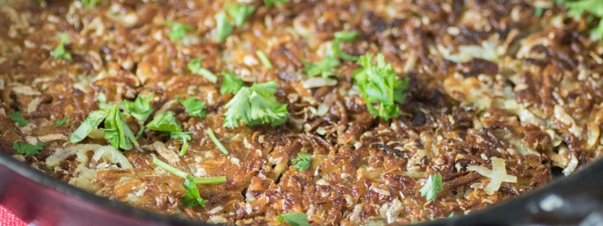 Crispy Rosti Potatoes