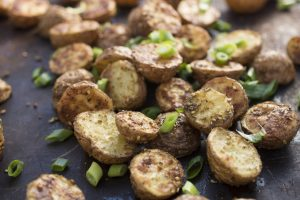Crispy Za'atar Roasted Potatoes