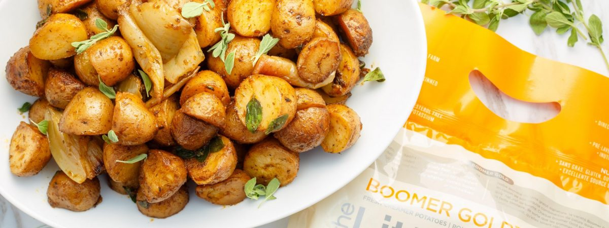 Easy Slow Cooker Breakfast Potatoes
