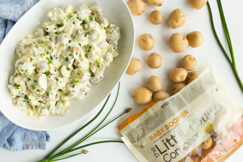 Potato Salad with Greek Yogurt
