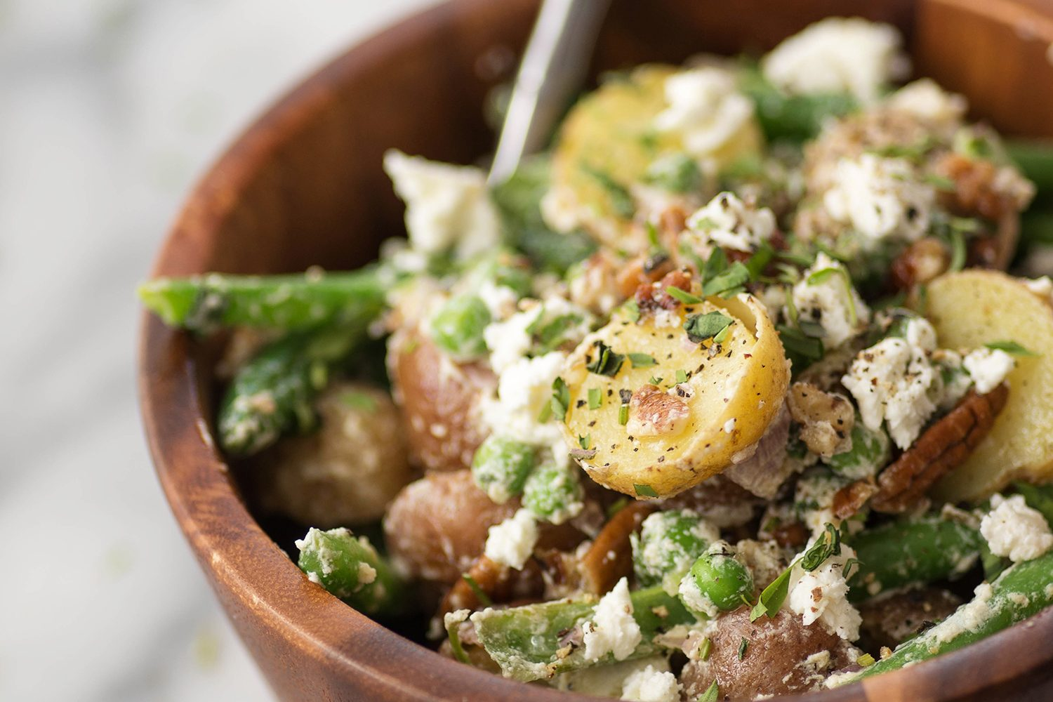 Green Bean, Tarragon, and Potato Salad