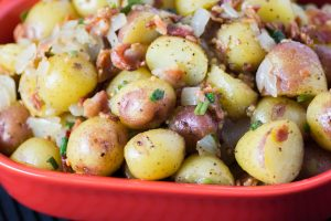 Hot German Potato Salad - The Little Potato Company
