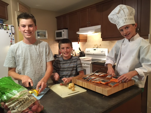 Cooking Together: Little Chef Owen and Kids Helping in the Kitchen