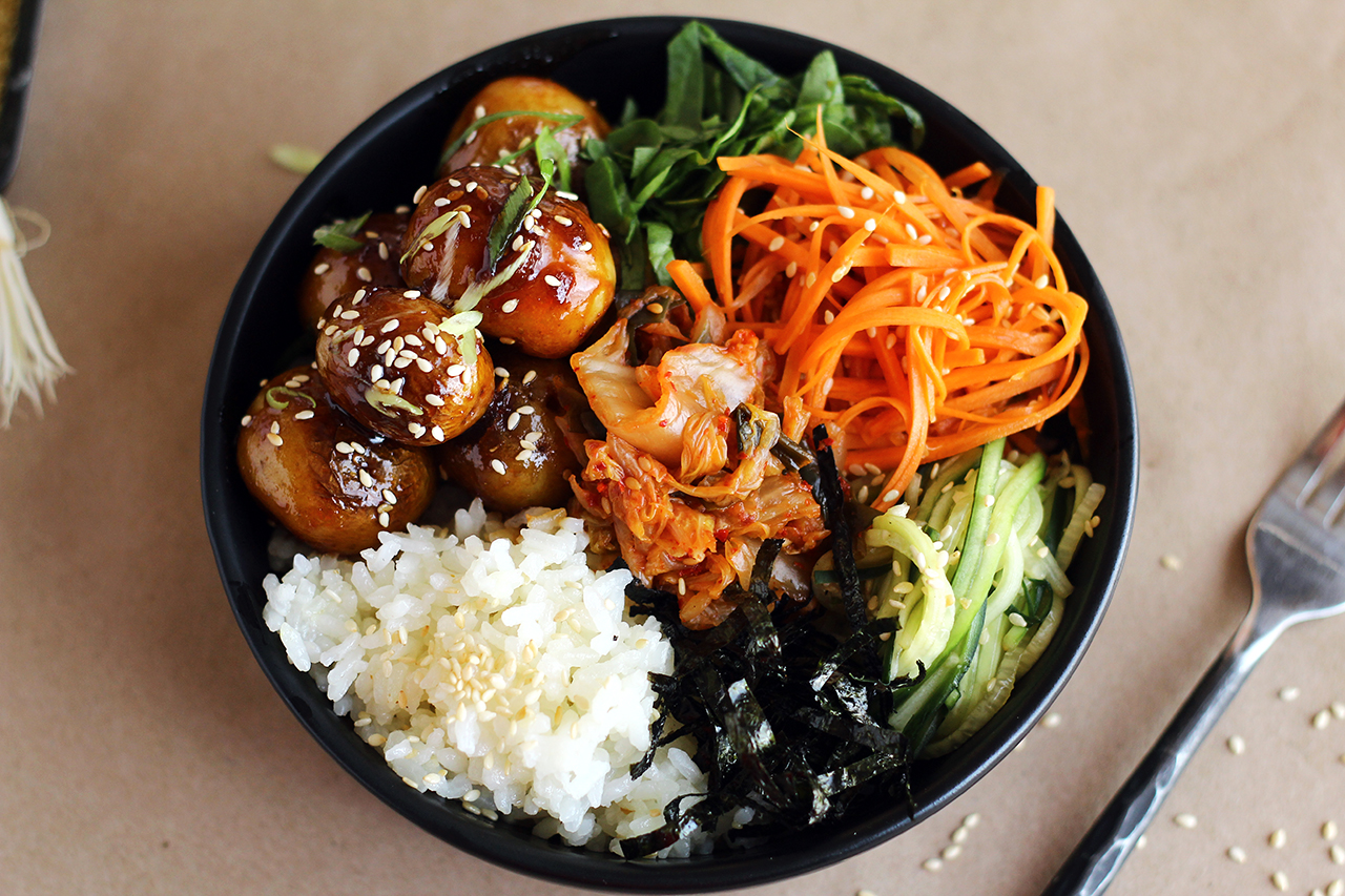 Korean Potato Bowl