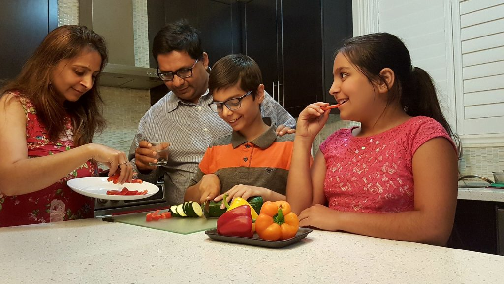 Little Chef Arnav Family Cooking Together 2017