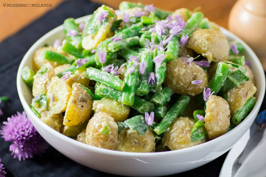 Green Bean and Gold Potato Salad