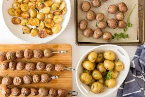 Little Potatoes 4 Ways