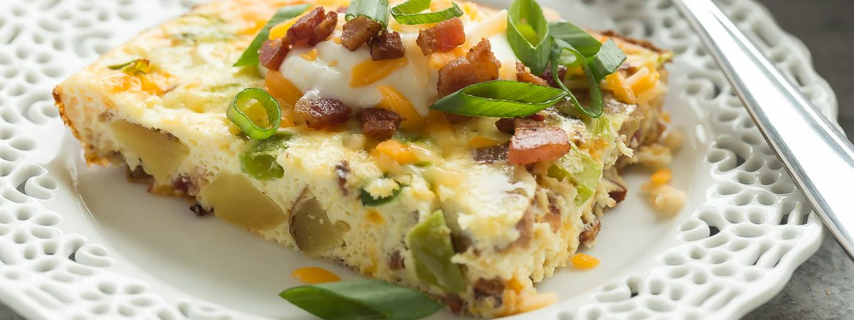 Loaded Baked Potato Breakfast Casserole
