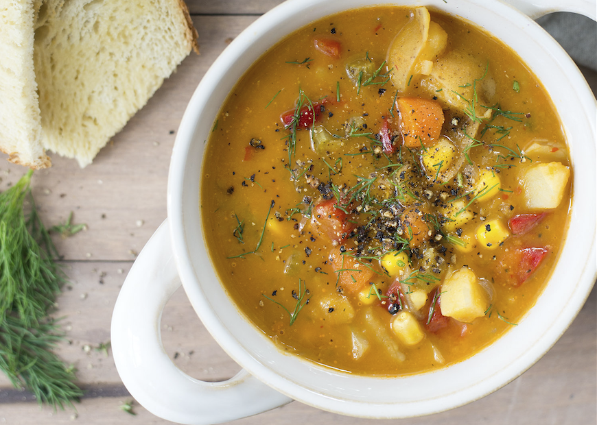 Vegetable and Potato Chowder