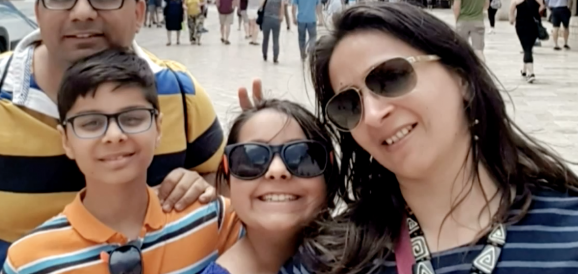 Cooking Together: Little Chef Arnav's Family Trip to Rome