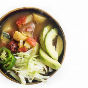 Southwestern Chipotle Vegetable Soup - The Little Potato Company