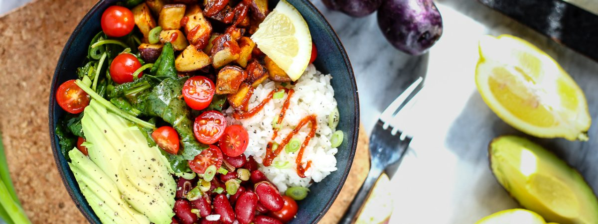 Spicy Sriracha Nourish Bowl