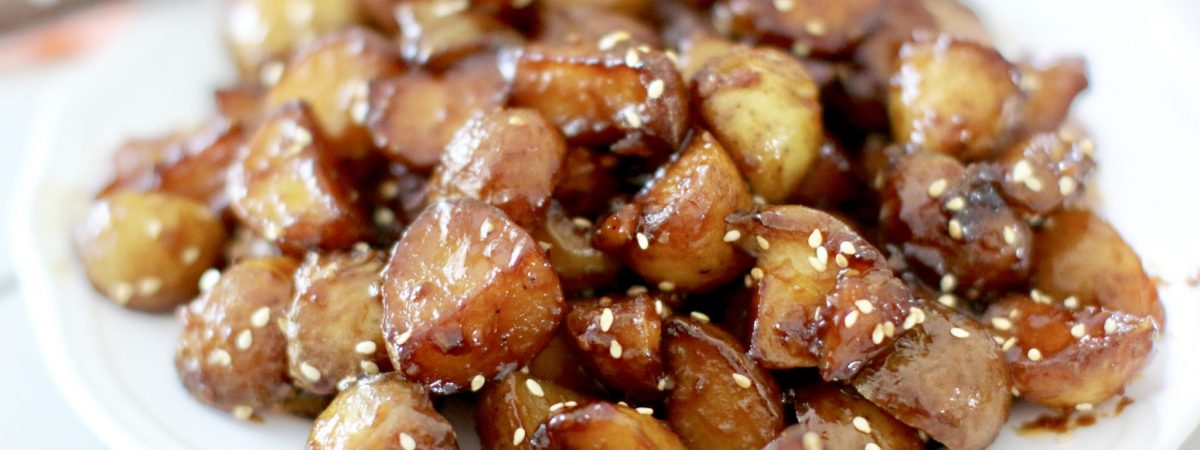 Sticky Potatoes
