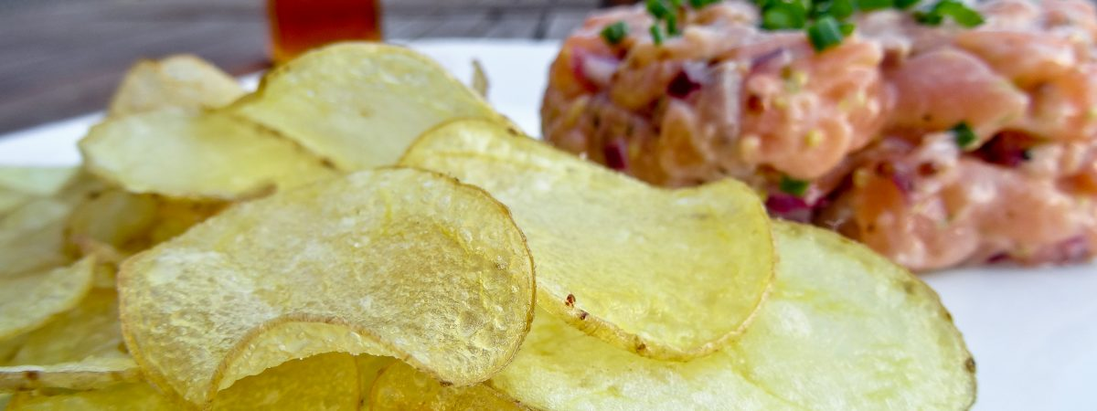 Homemade Little Potato Chips