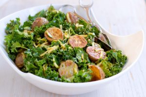 Thai Roasted Potato Kale Salad - The Little Potato Company
