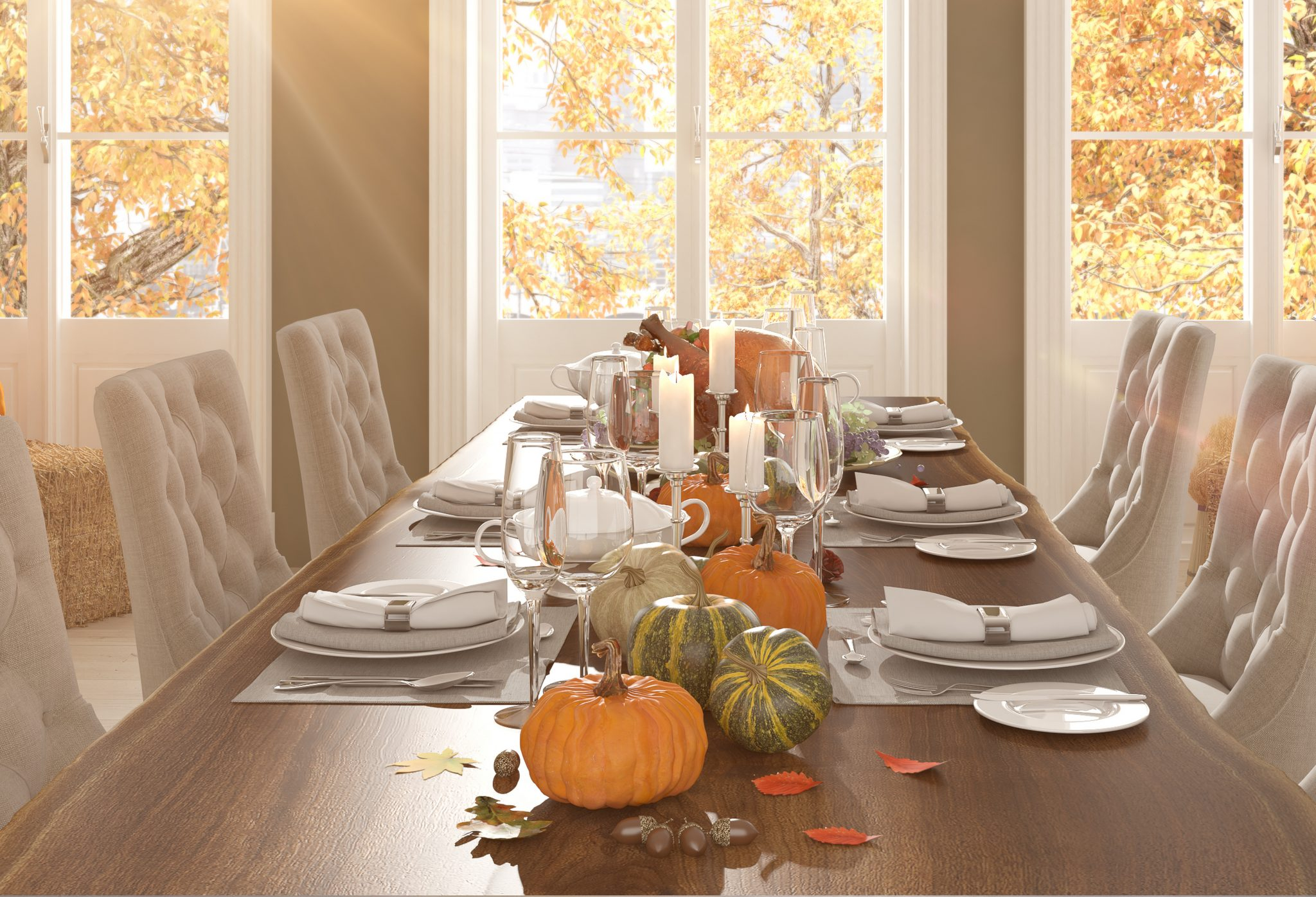 How To Set Your Thanksgiving Table Forks Napkins Decor Oh My