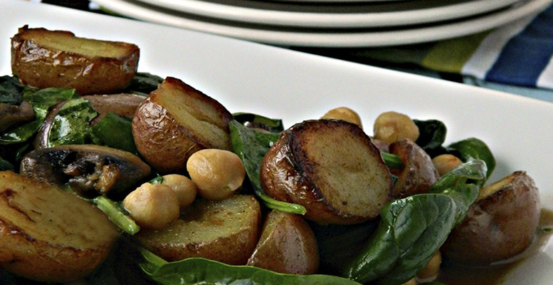 Fabulous fall harvest salads with Little Potatoes