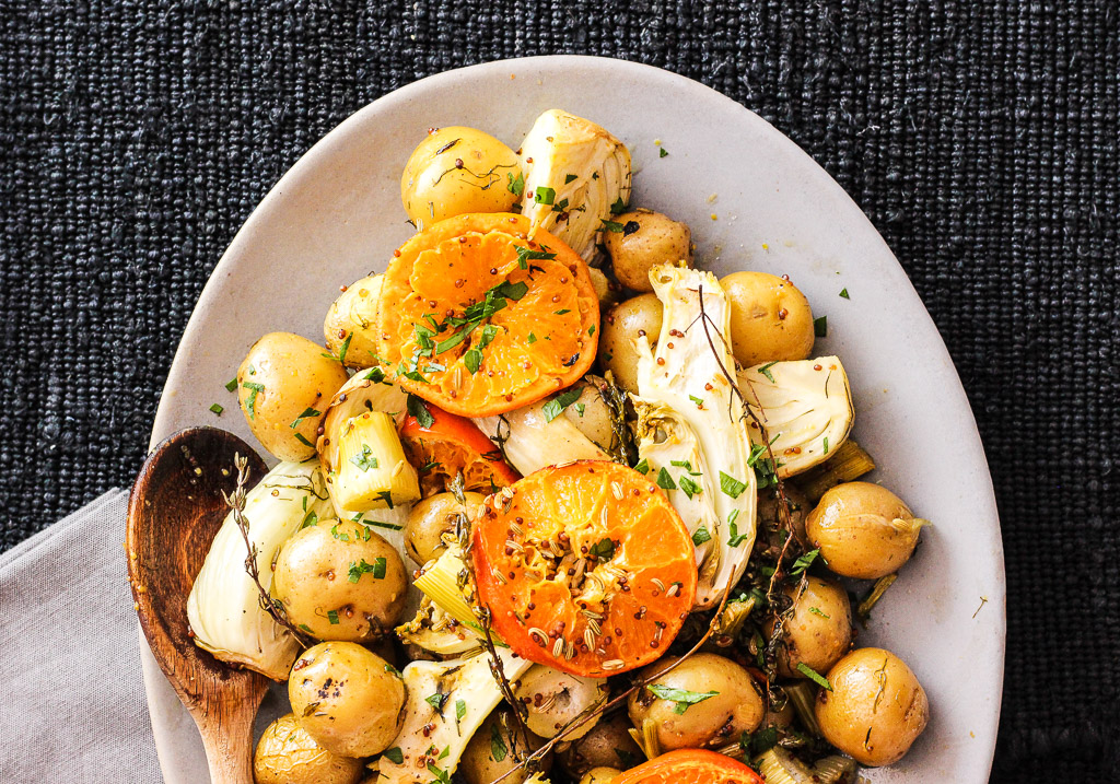 Clementine Fennel Potatoes