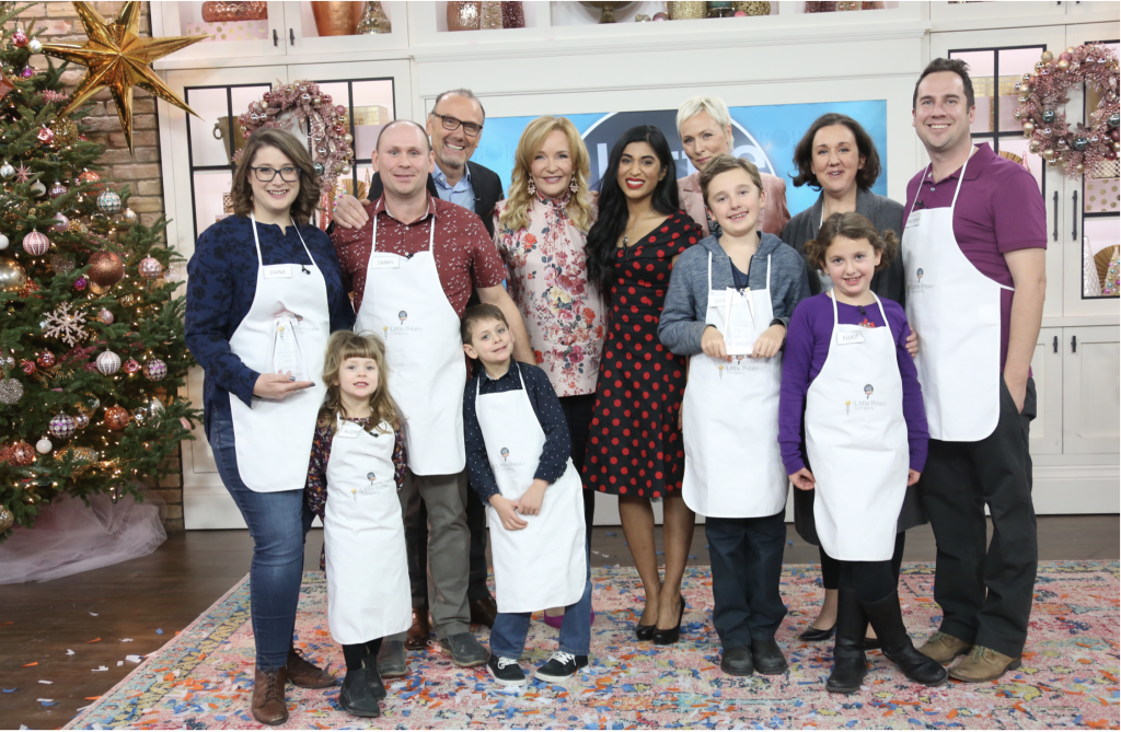 Little Chef Family Edition cook-off FINALE on CTV's The Marilyn Denis Show