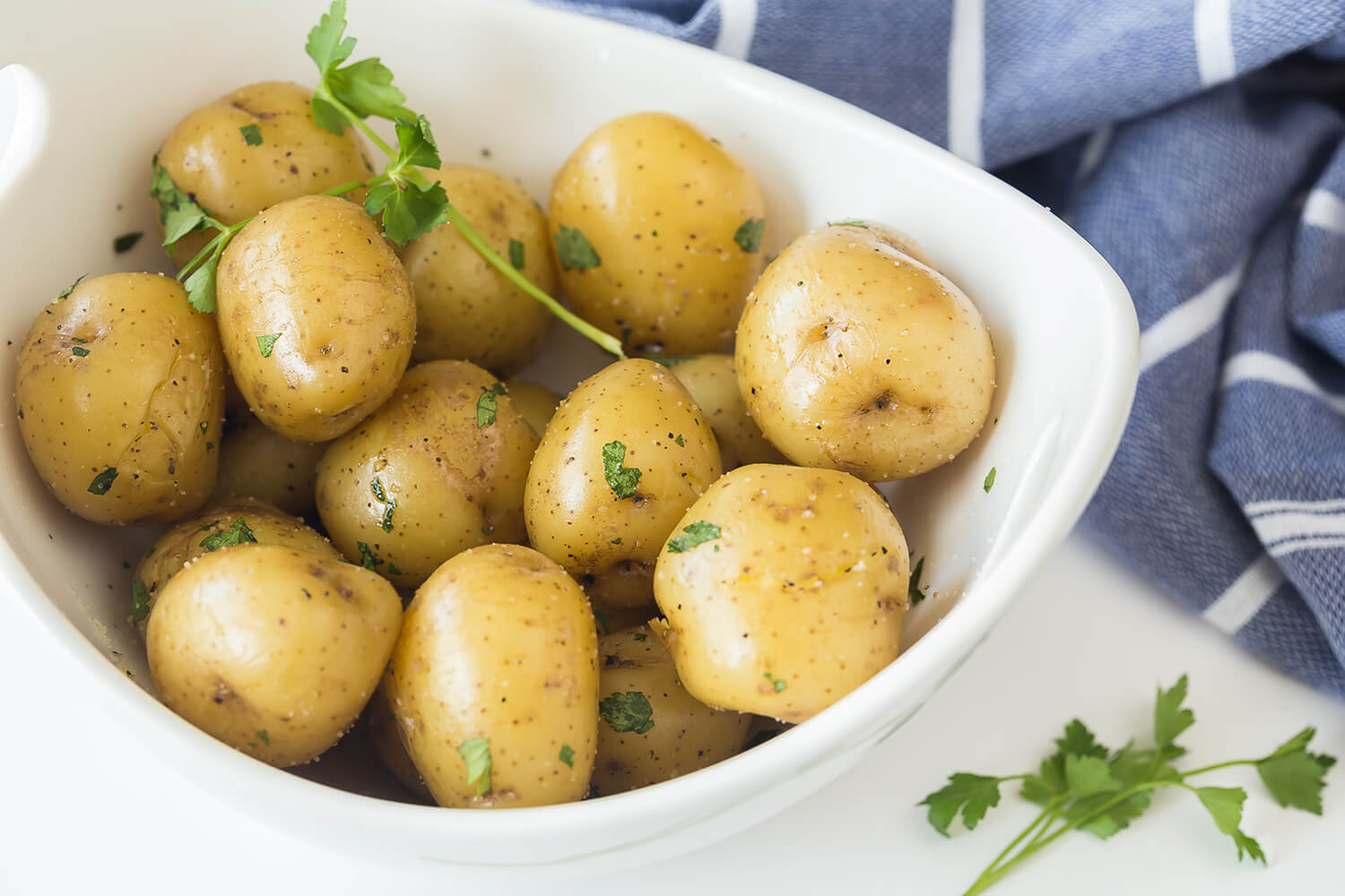 Boiled Potatoes Recipe The Little Potato Company