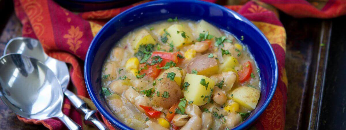 Green Chile Potato Stew