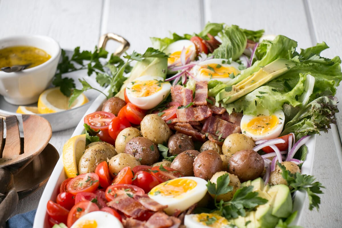 Healthy Potato Cobb Salad