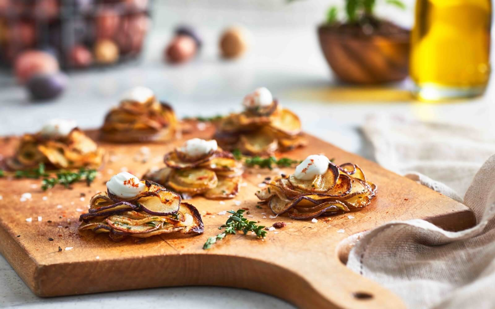 Michael's Little Crispy Potato Stacks