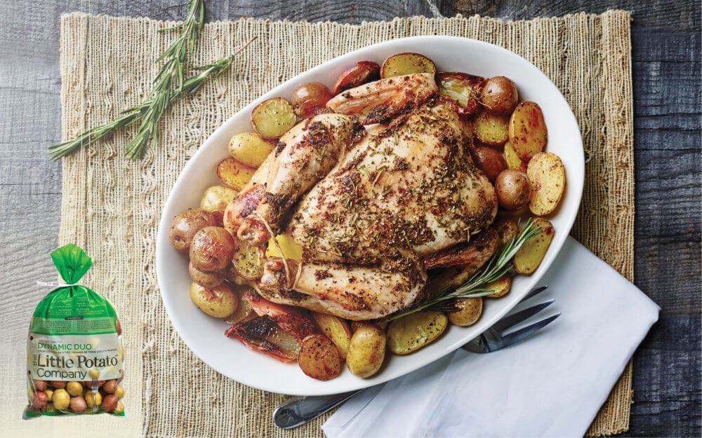 Weekend Roast Chicken Potatoes_Costco 5lb bag