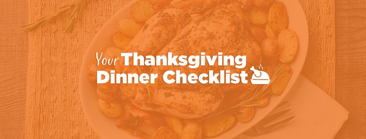Your Thanksgiving Dinner Checklist