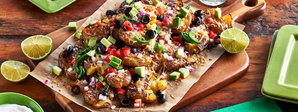 Fully Loaded Nacho Potatoes