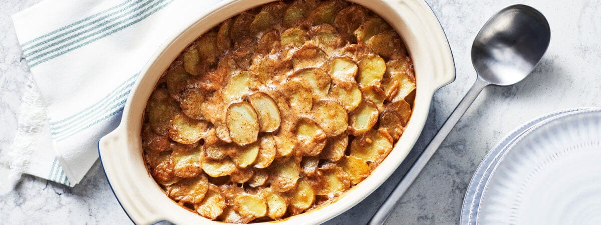 Basic Scalloped Potatoes